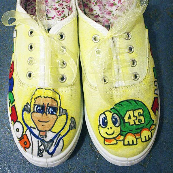 581fa3a3e04af Valentino Rossi Turtle Shoes